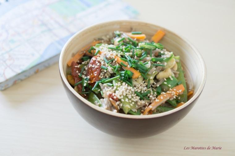 2016 04 24 Nouilles soba vegan legumes croquants les Marottes de Marie 1