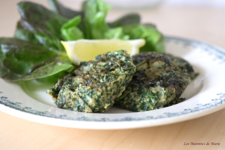 2016 05 22 Galettes vegan feuilles de bettes Les Marottes de Marie 1