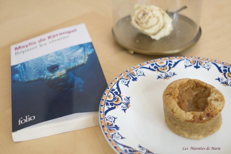 2016 05 25-Muffins vegan rhubarbe Les Marottes de Marie 1