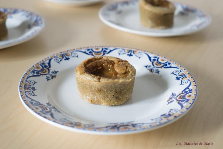 2016 05 25 Muffins vegan rhubarbe Les Marottes de Marie 2