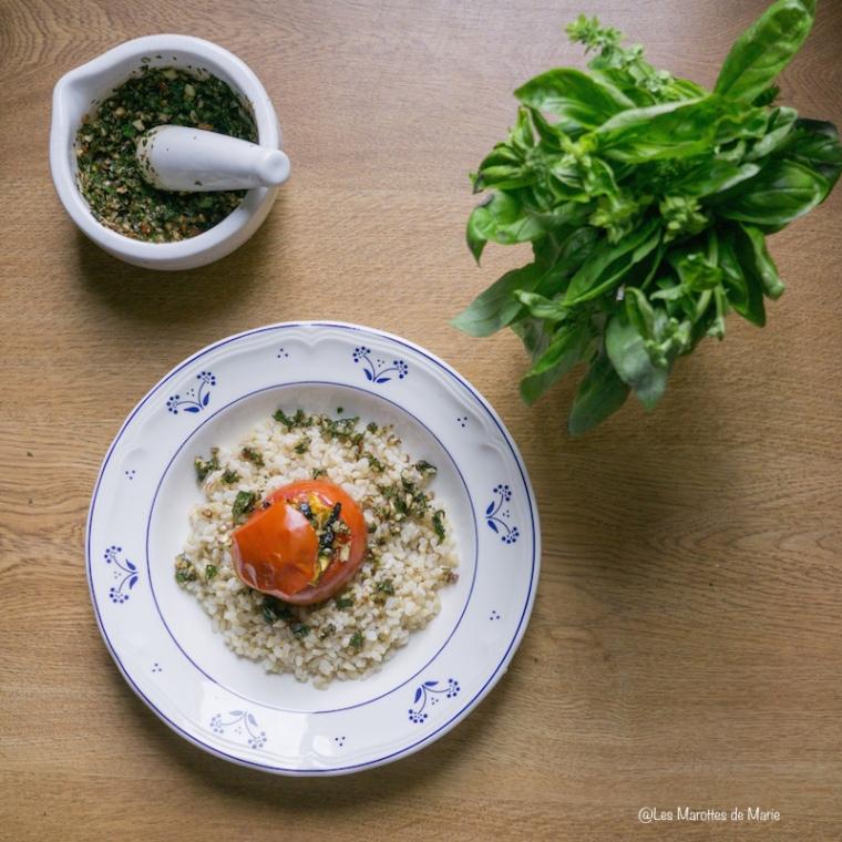 tomates farcies aux legumes les marottes de marie. Black Bedroom Furniture Sets. Home Design Ideas
