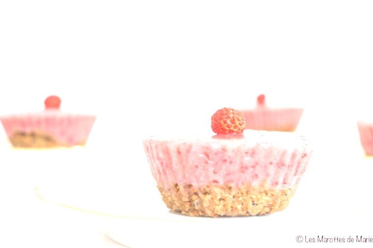 Dessert glacé fraise banane vegan 1 Les Marottes de Marie