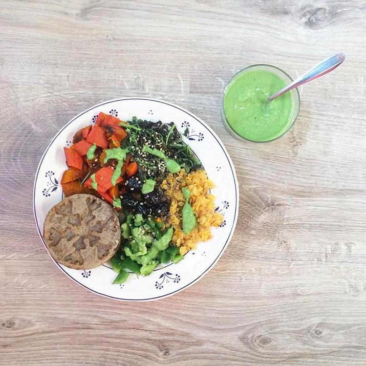 lunch bowl vegan