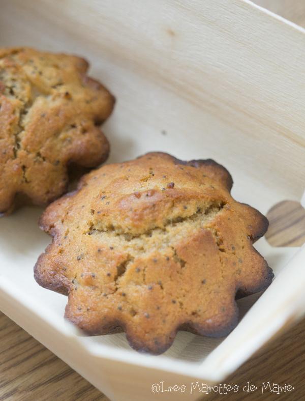 Muffins citron vegan 1