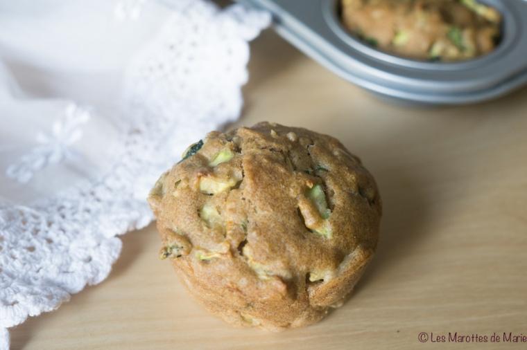 Muffins sales courgette vegan Les Marottes de Marie-3