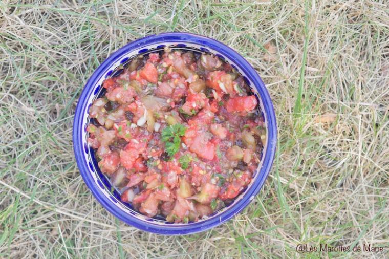 Salsa de tomates vegan - Les Marottes de Marie 1