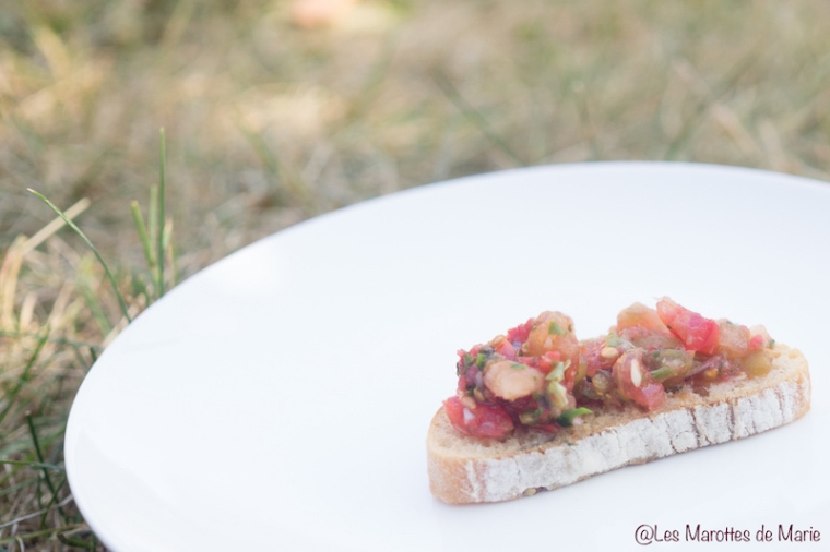 Salsa de tomates vegan - Les Marottes de Marie 2