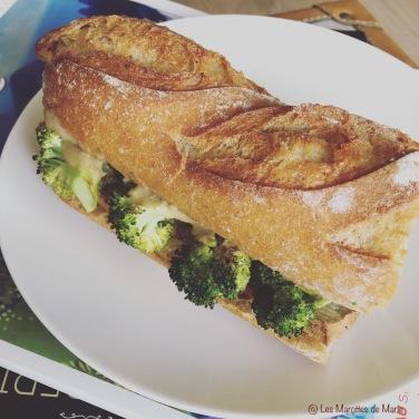 Les Marottes de Marie 2 11 2018 Sandwich vegan