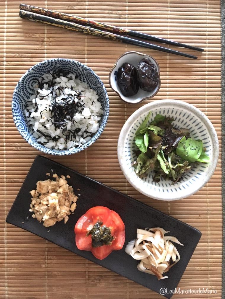 2018 05 30 Les Marottes de Marie repas japonais