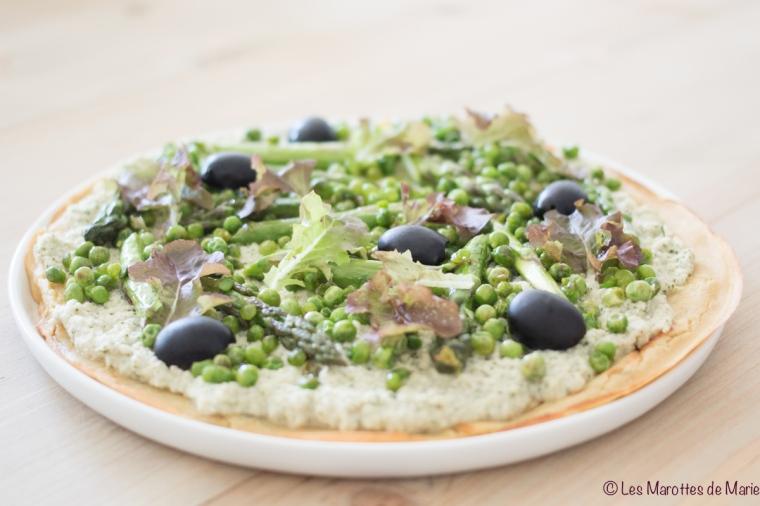 2018 06 2- Les Marottes de Marie green pizza 1