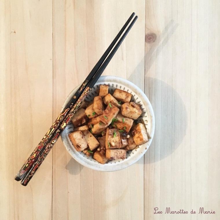 tofu marine les marottes de marie