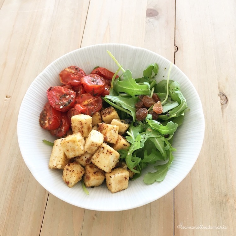 2019 04 21 salade tofu frit