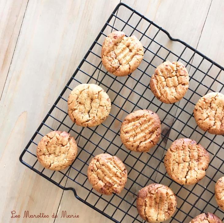 2019 6 23 Cookies beurre cacahuete vegan Les Marottes de Marie