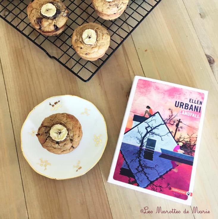 2019 9 11 Muffins banane chocolat vegan Les Marottes de Marie