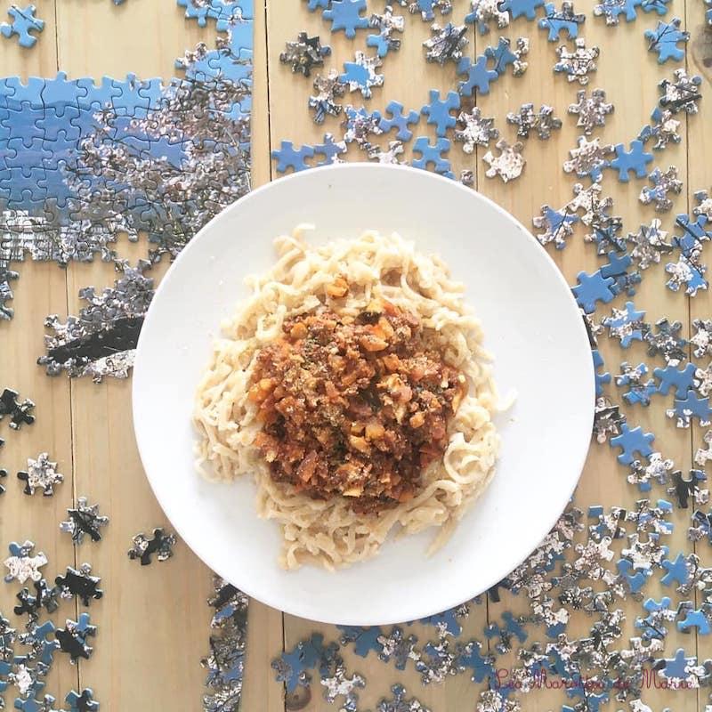 2020 03 21 Bolognaise de lentilles vegan les marottes de marie