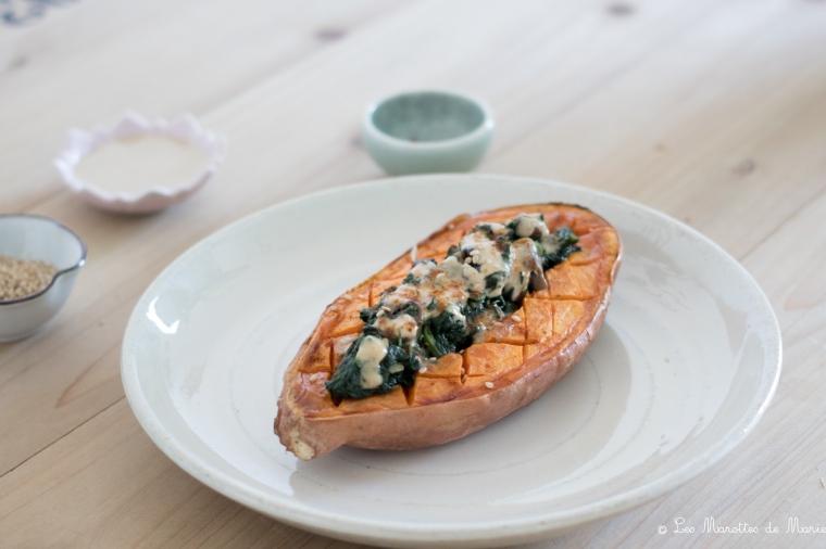 2020 04 12 patate douce farcie vegan Les marottes de marie-5