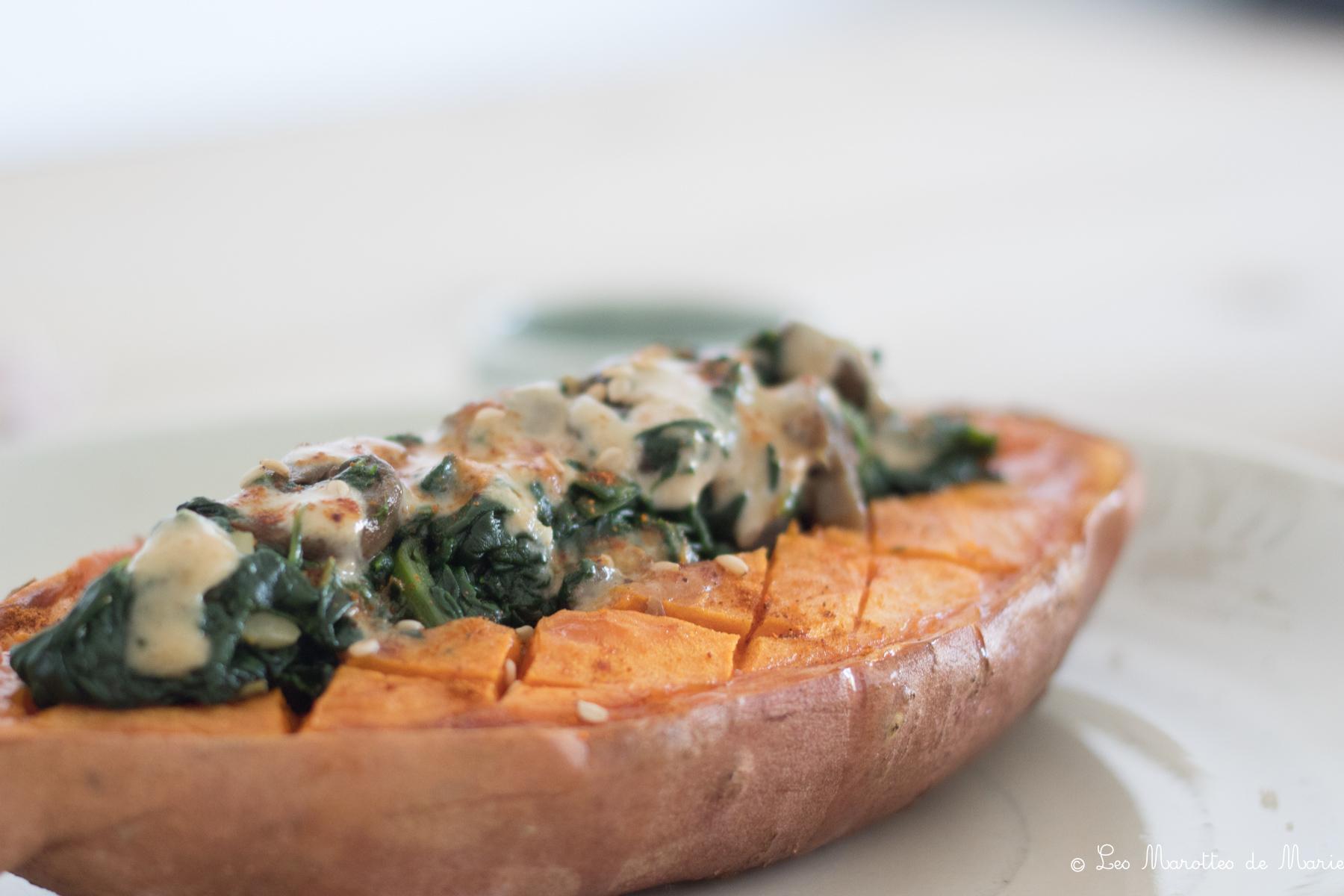 2020 04 12 patate douce farcie vegan Les marottes de marie-6