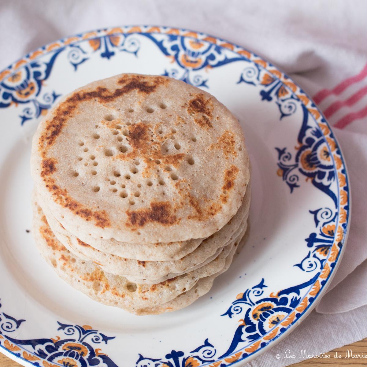 2020 04 19 pancakes levain Les marottes de marie-1