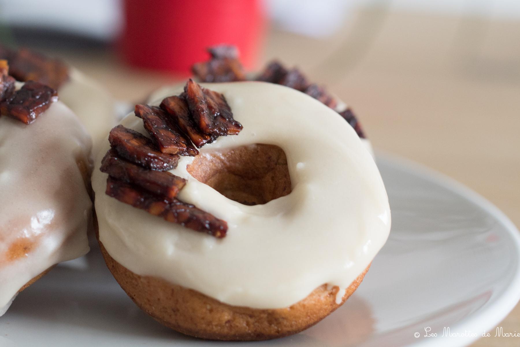 2020 05 6 donut sirop erable vegan Les marottes de marie-1